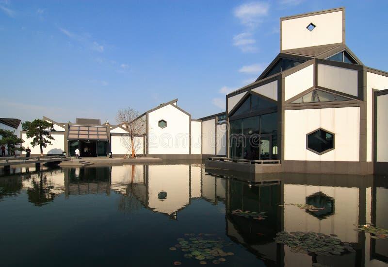 музей suzhou стоковые фото