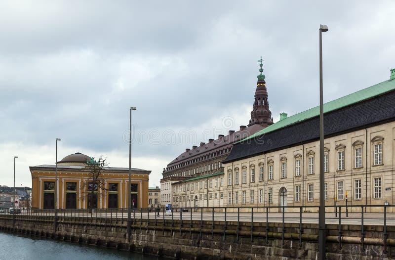 Музей Thorvaldsen, Копенгаген стоковые изображения