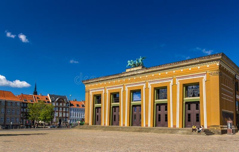 Музей Thorvaldsens в Копенгагене, Дании стоковое фото
