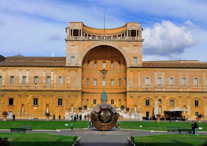 музей vatican глобуса стоковые фото
