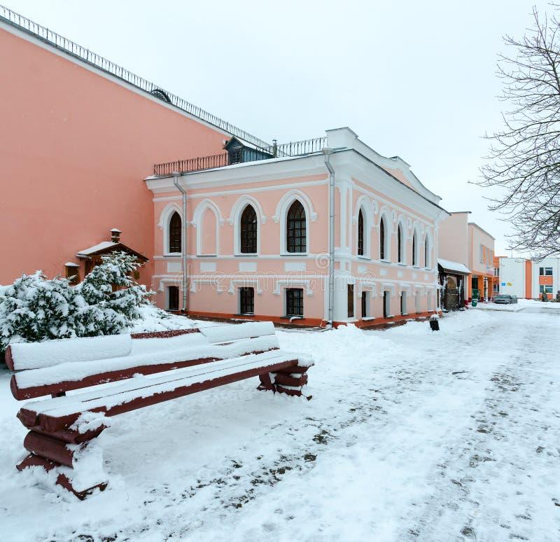 Музей Vetka дома народного искусства бывшего купца Groshikov, 1897, Беларусь стоковые изображения