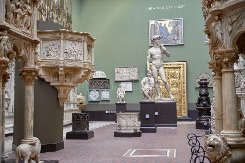 музей victoria albert стоковое изображение