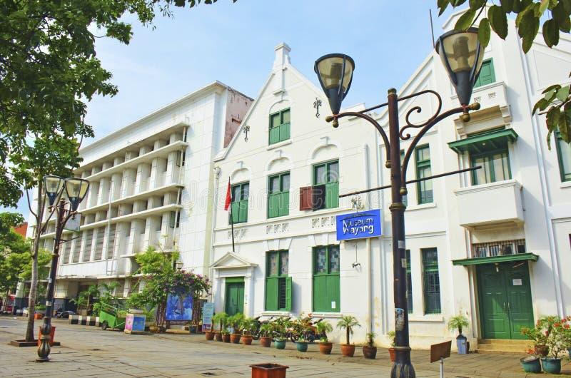 Музей Wayang, Джакарта стоковое изображение rf