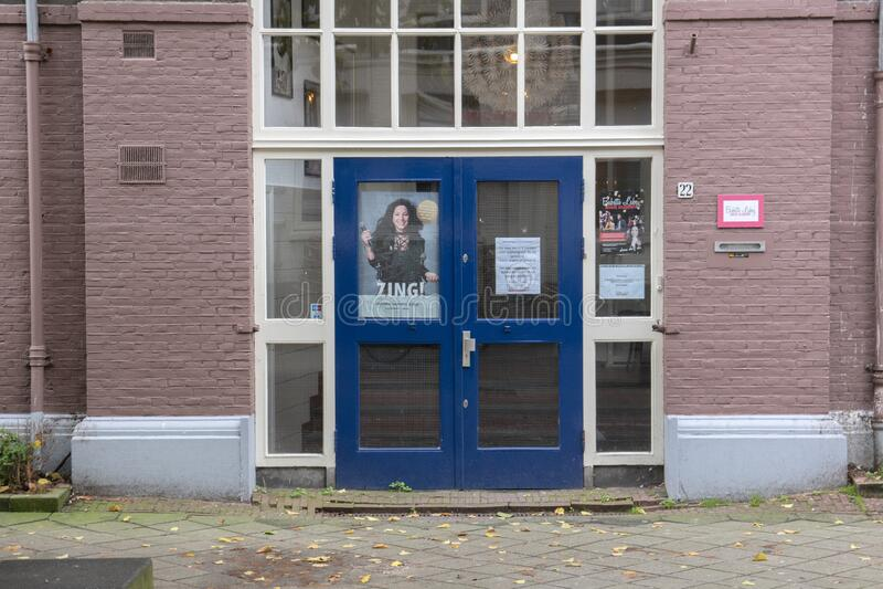 Музыкальная академия Babette Labeij В Амстердаме, Нидерланды, 2019 стоковая фотография rf