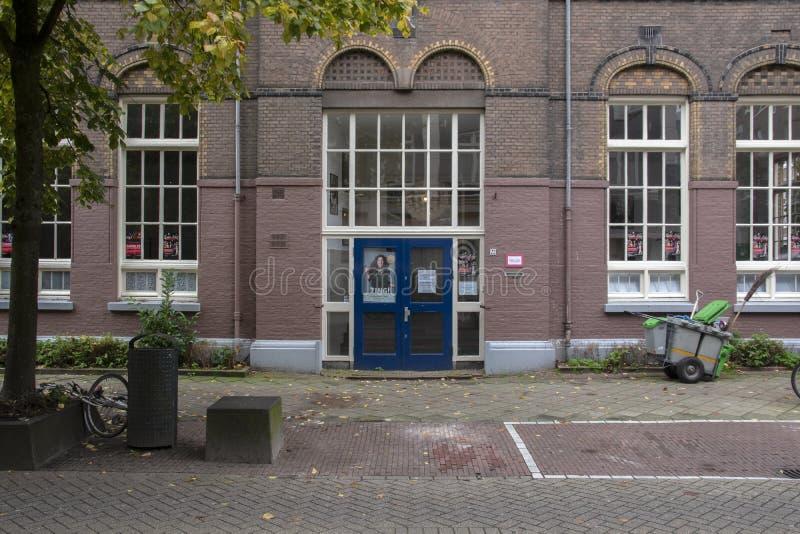 Музыкальная академия Babette Labeij В Амстердаме, Нидерланды, 2019 стоковое изображение