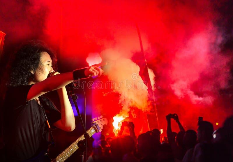 Музыкальный фестиваль MIDI в Китае стоковое изображение rf