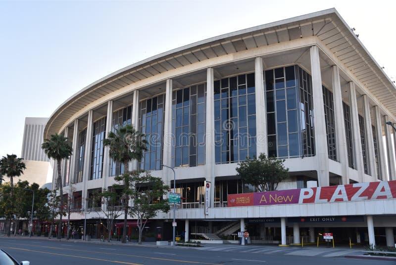 Музыкальный центр Лос-Анджелеса стоковые фотографии rf