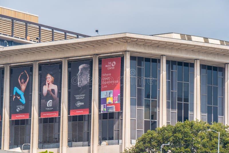 Музыкальный центр Лос-Анджелеса - КАЛИФОРНИЯ, США - 18-ОЕ МАРТА 2019 стоковое фото