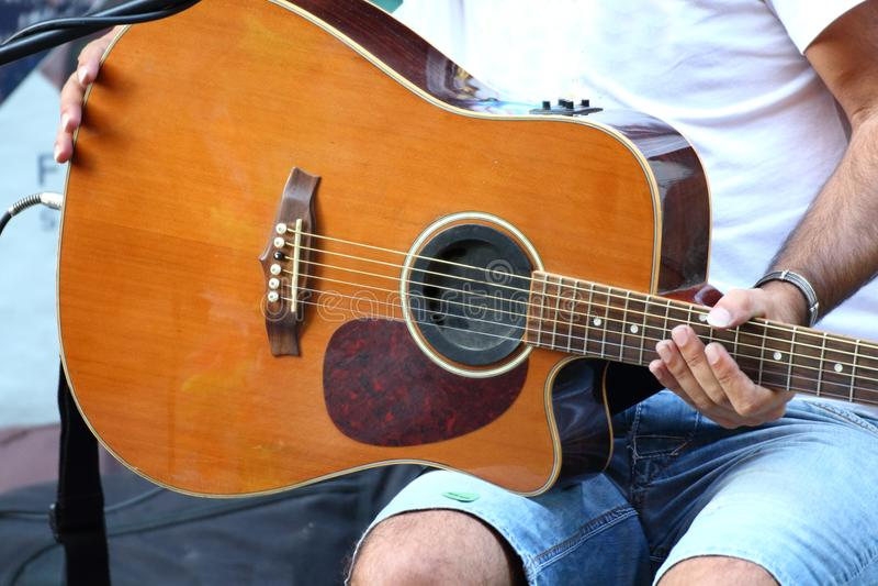Музыка в улице стоковая фотография