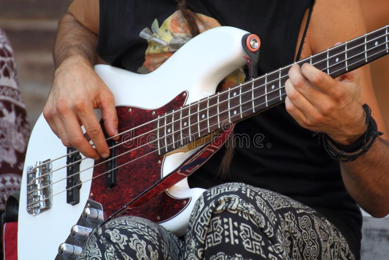 Музыка в улице стоковое фото