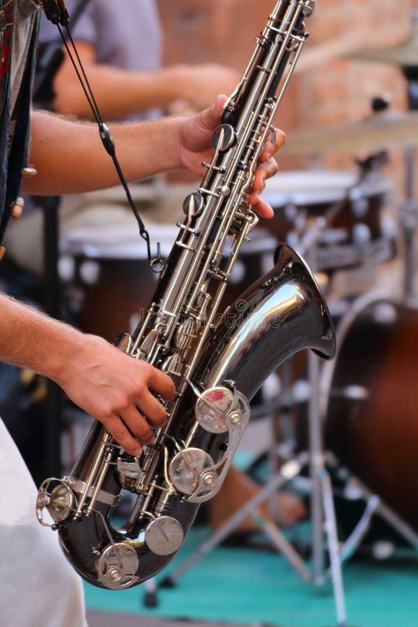 Музыка в улице стоковая фотография rf