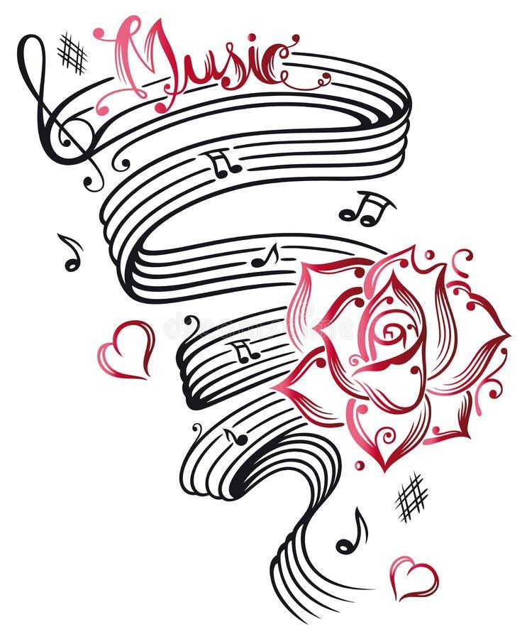 Музыка, ключ бесплатная иллюстрация