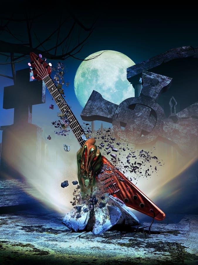 Музыкальный возврат бесплатная иллюстрация