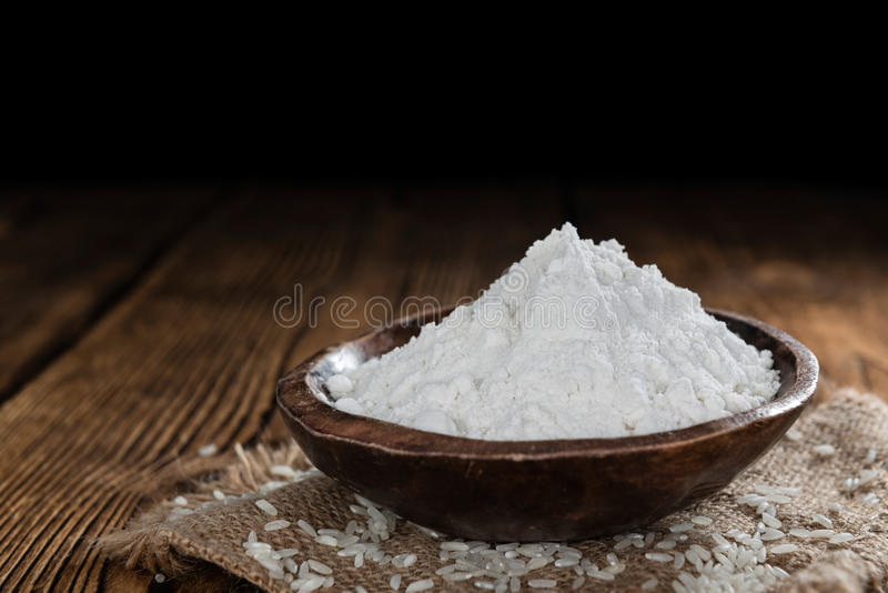 Мука белого риса стоковое изображение