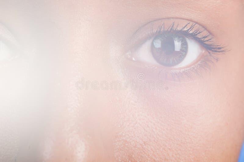 мулат глаза стоковые изображения
