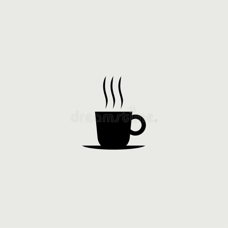 Мультфильм вектора кружки черного кофе бесплатная иллюстрация