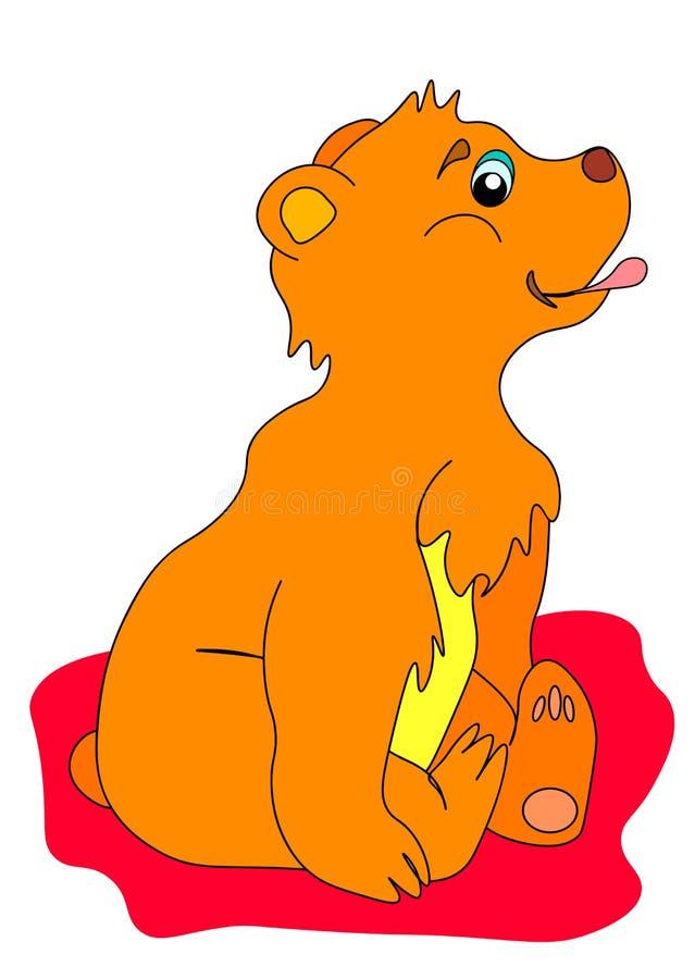 Мультфильм медведя младенца сети милый бесплатная иллюстрация
