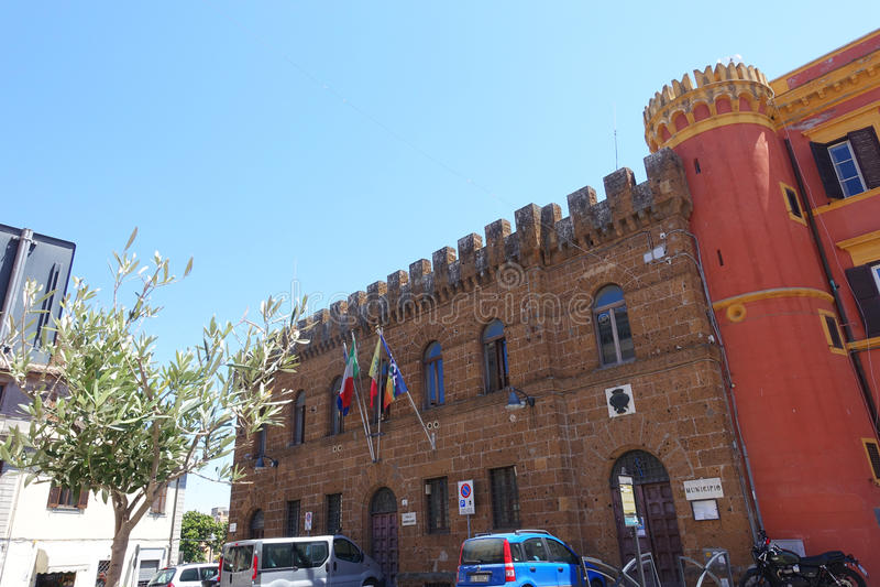 Муниципалитет Cerveteri стоковая фотография