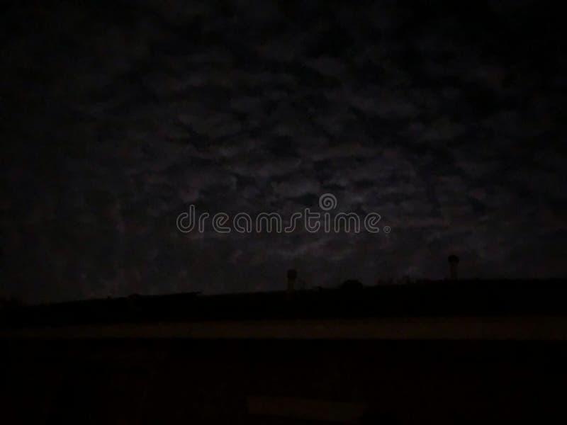 Мунлайт облака, эффект яблока стоковая фотография