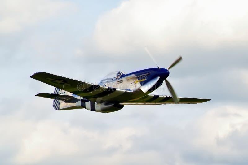 Мустанг Excalibur P-51D стоковое изображение rf