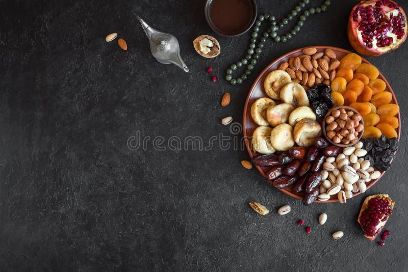 Мусульманская еда Iftar стоковые изображения rf