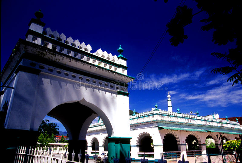 Мусульмане Masjid Индии стоковая фотография rf