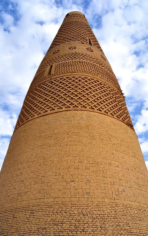 Мусульманская башня стоковое фото rf