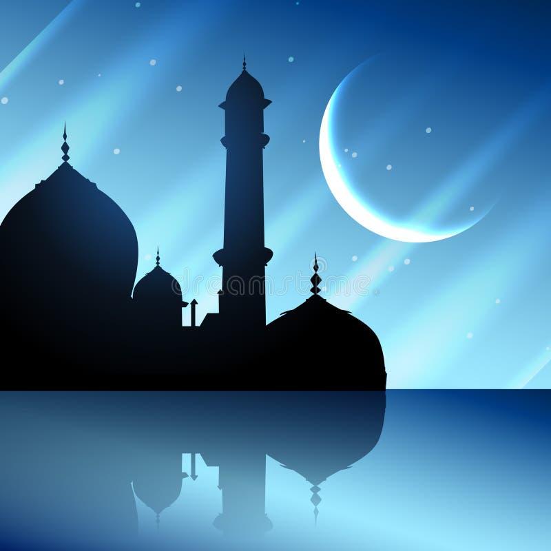 Мусульманский дизайн фестиваля бесплатная иллюстрация