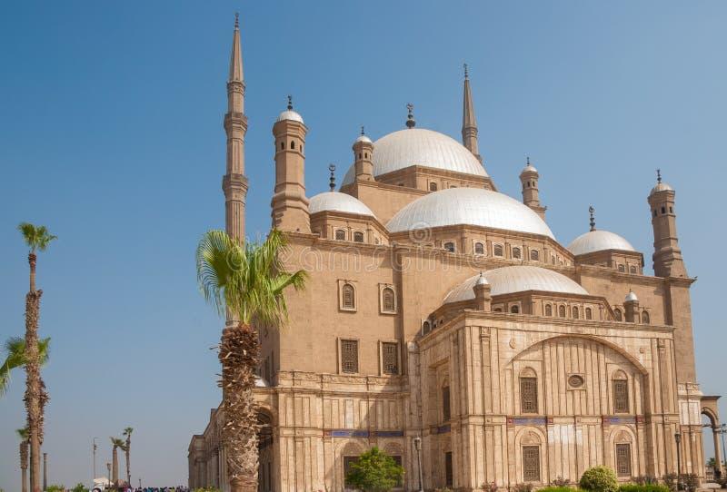 Мухаммед Али или мечеть алебастра, цитадель Saladin, Каир, Египет стоковые фото