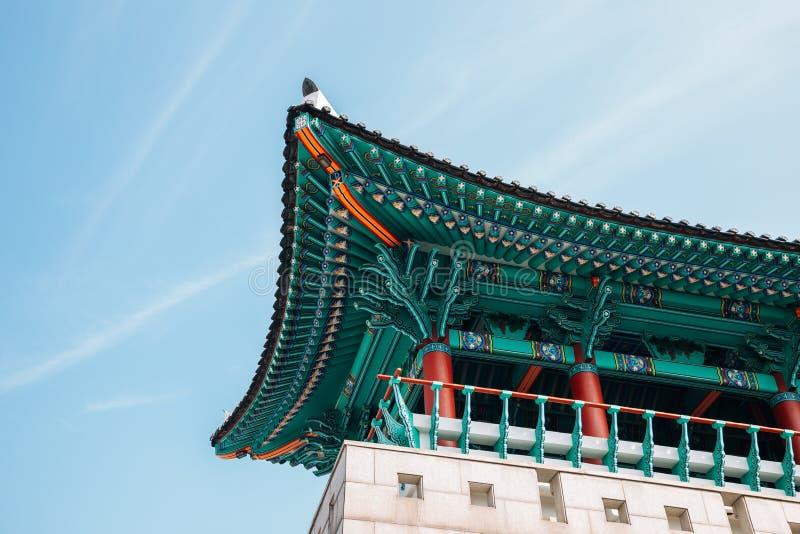 Мученики мемориальные, историческое здание Тэгу Gwandeokjeong на Тэгу, Корее стоковые изображения