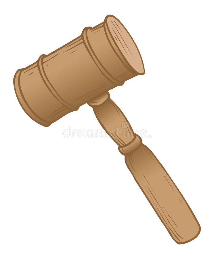 мушкел зала судебных заседаний иллюстрация штока