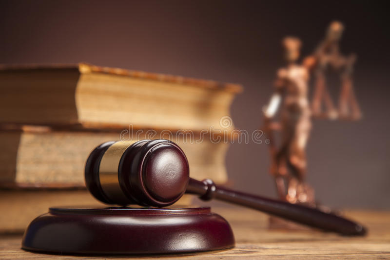 Мушкел правосудия! стоковое фото rf