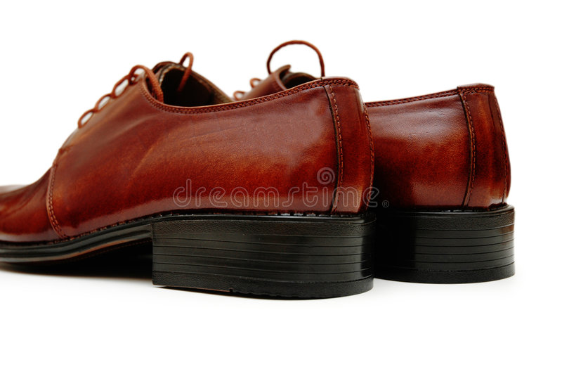 мыжские ботинки пар стоковая фотография rf