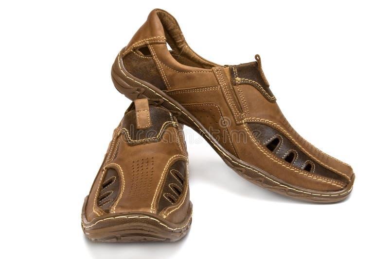 мыжские ботинки стоковые фото