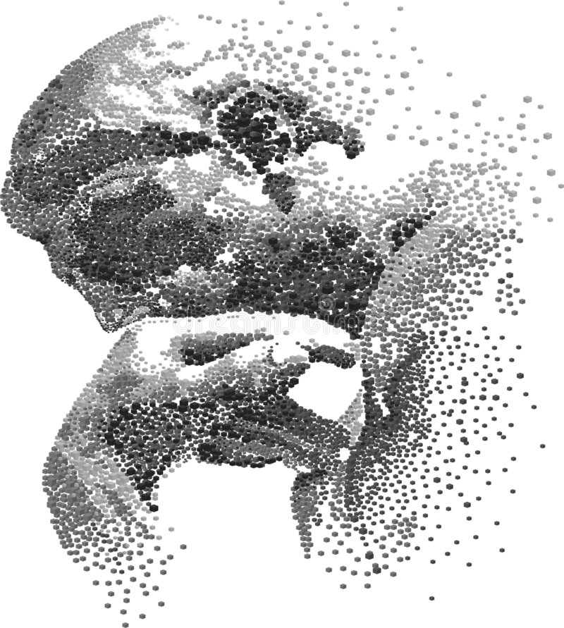 мыслитель стоковые изображения rf