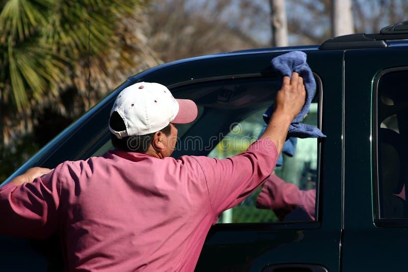 мытье автомобиля стоковое изображение