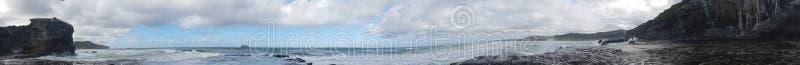 Мытье одичалых Диких Западов белое развевает панорамное стоковое фото rf