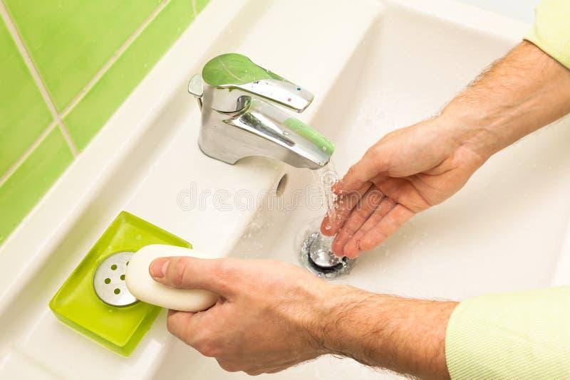 мыть рук стоковые изображения