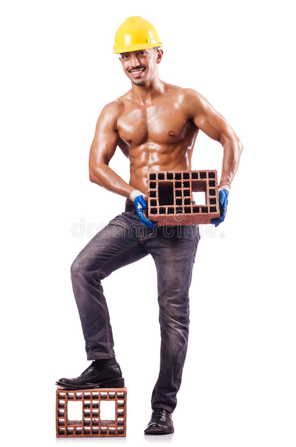 Мышечный строитель Стоковые Фото