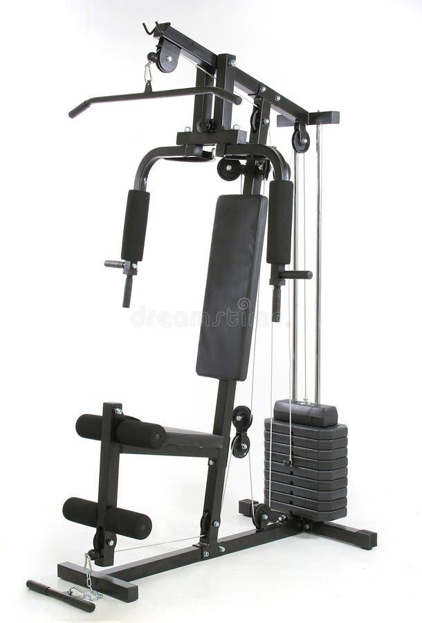 мышца машины гимнастики стоковая фотография rf