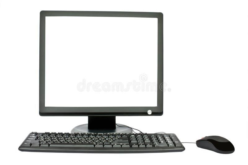 мышь монитора клавиатуры стоковое фото