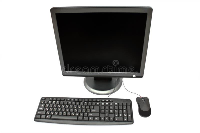 мышь монитора клавиатуры стоковые фото