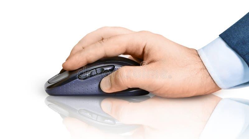 мышь руки стоковая фотография