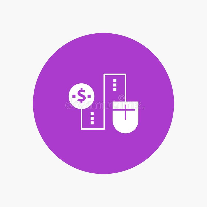 Мышь, соединяется, деньги, доллар, соединение иллюстрация штока