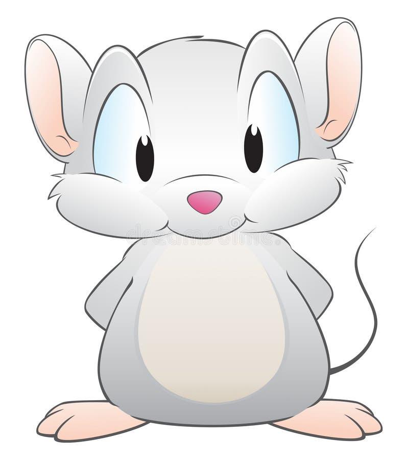 мышь шаржа иллюстрация штока