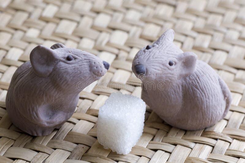 мышь шоколада стоковые изображения rf