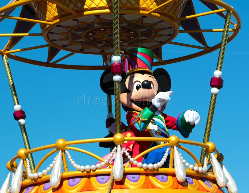 Мышь Mickey на мире Дисней, Орландо Флориде стоковое фото rf