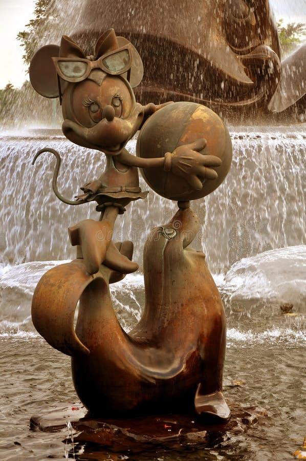мышь minnie стоковые фото