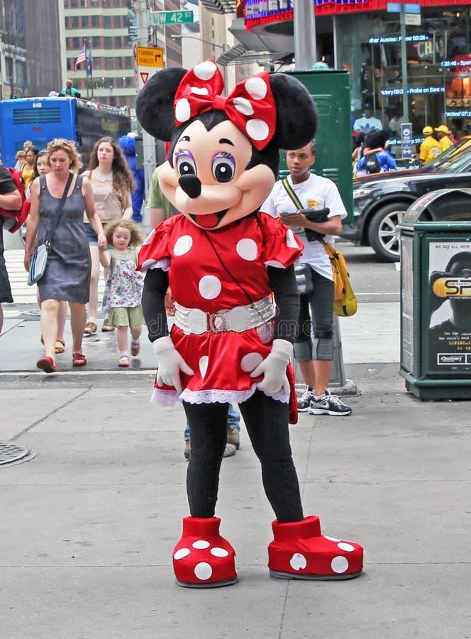 мышь minnie ny стоковая фотография