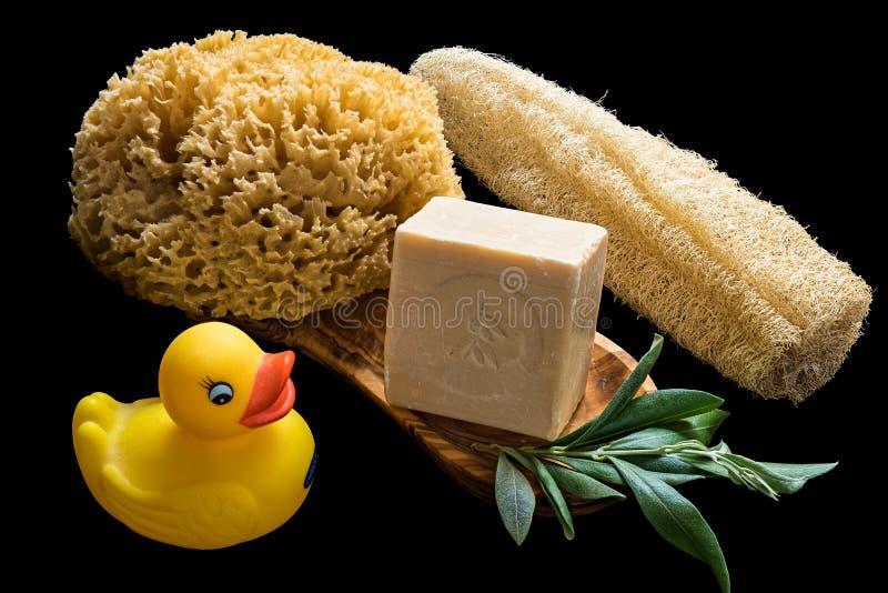 Мыла оливкового масла стоковое фото rf